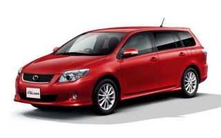 Toyota corolla fielder отзывы