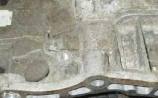 Сливная пробка акпп шевроле круз