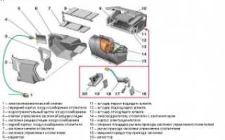 Замена микромоторедуктора печки ваз 2110