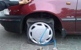 Зачем качают шины азотом