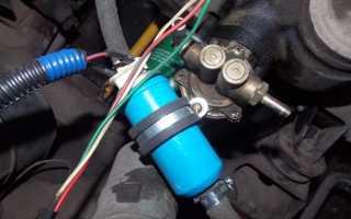 Электробензонасос низкого давления для карбюратора