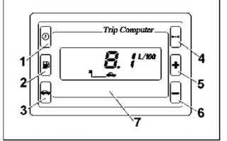 Инструкция к бортовому компьютеру ваз 2110