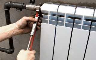 Видео как снять радиатор