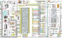 Электросхема ваз 2109 карбюратор низкая панель