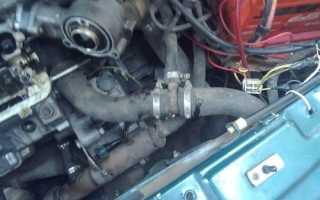 Подводящая труба насоса охлаждающей жидкости ваз 2109