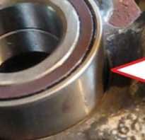 Ступица переднего колеса на кайрон