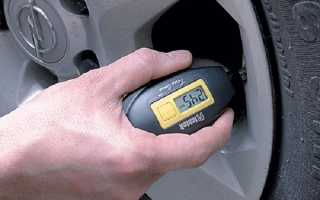 Сколько стоит проверить давление в шинах