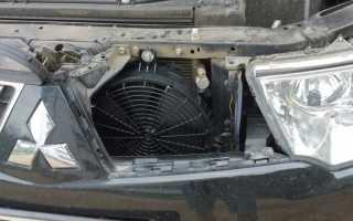 Электромотор вентилятора охлаждения радиатора