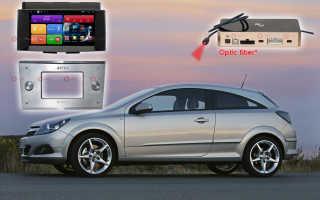 Opel astra h магнитола android