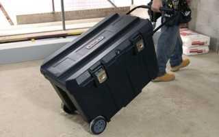 Ящик под инструменты на колесах
