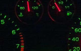 Форд фокус 2 рестайлинг горит чек
