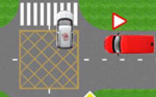 Штраф за нарушение проезда перекрестка