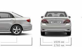 Toyota corolla 2007 комплектации