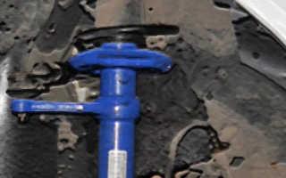 Замена стоек амортизатора лада калина